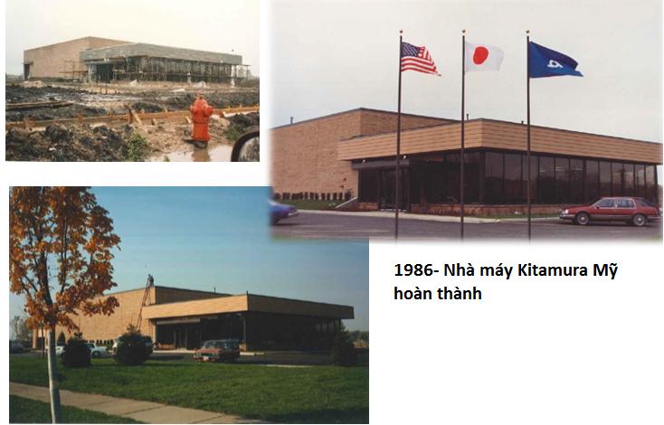 Nhà máy Kitamura machinery tại Mỹ